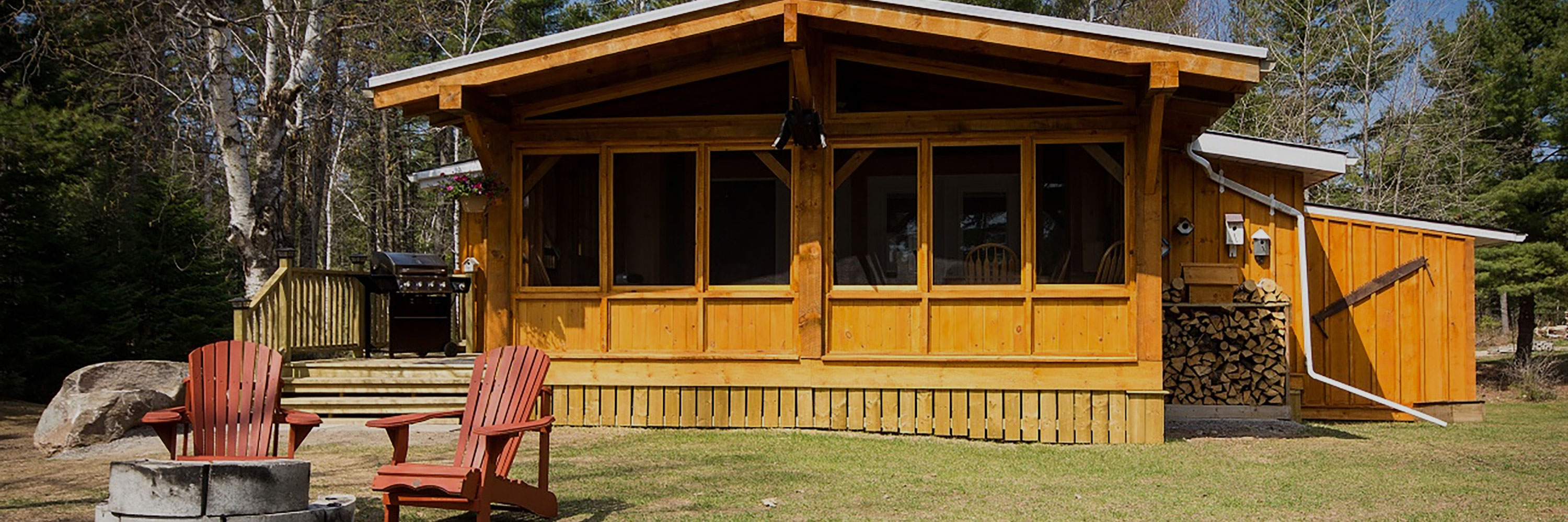 cardinal, cottage rental, amenities, snowbird summer haven resort, white lake, Ontario, Canada